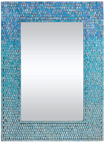 Ren-Wil Catarina Wall Mirror, 23 by 31-Inch, - 24 Mirrors Seaglass Inch Bathroom