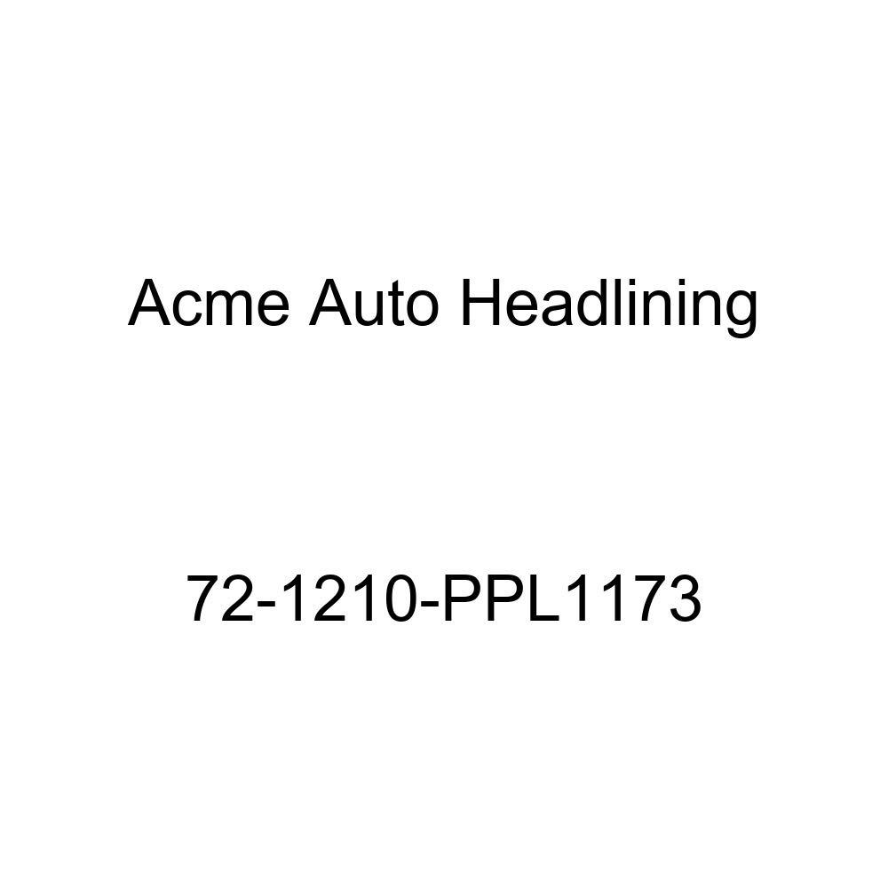 5 Bows Acme Auto Headlining 72-1210-PPL1173 Buckskin Replacement Headliner 1972 Oldsmobile Delta 88 2 Door Hardtop