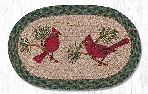 Earth Rugs MSPS-365C-4 Set of Trivets 10x15 Red by Earth Rugs
