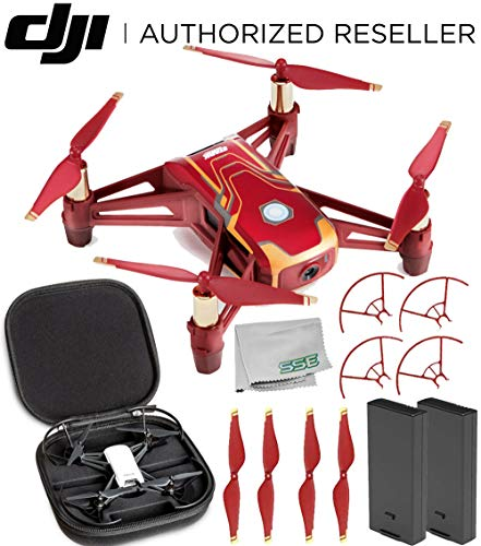 Ryze Tech Tello Quadcopter Iron Man Edition Premium - Edition Kit Premium