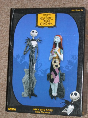 Sdcc Exclusive Statue - Neca NBX A Nightmare Before Christmas Movie Tim Burton - Jack & Sally SDCC Exclusive Statue