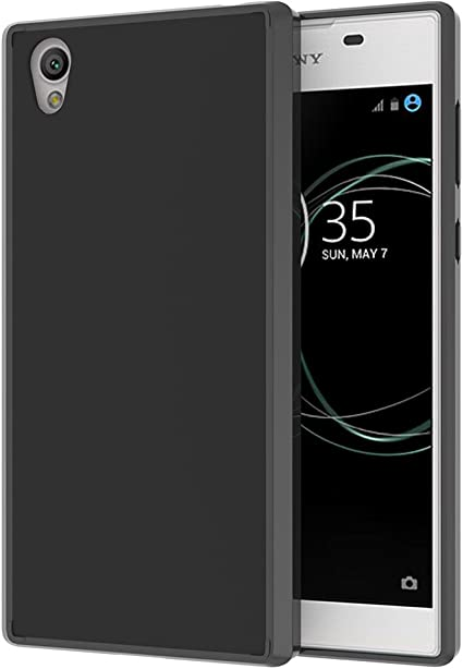 Ferlinso Funda para Sony Xperia L1, Air Hybrid Crystal Clear TPU ...