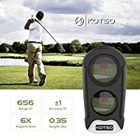 KOTSO Golf Rangefinder Slope Laser Range Finder Angle Golfing G1S