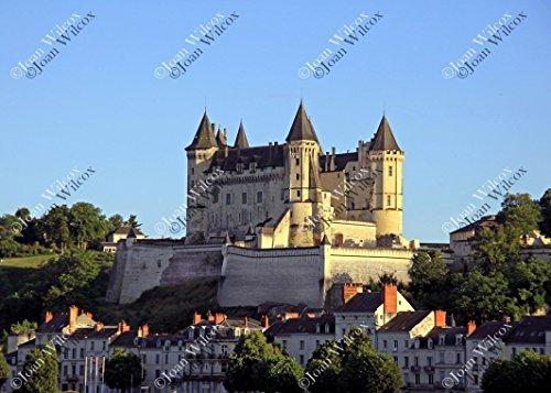 (Château de Saumur Castle Loire Valley France Europe Floral Botanical Spring Summer Original Fine Art Photography Wall Art Photo Print)