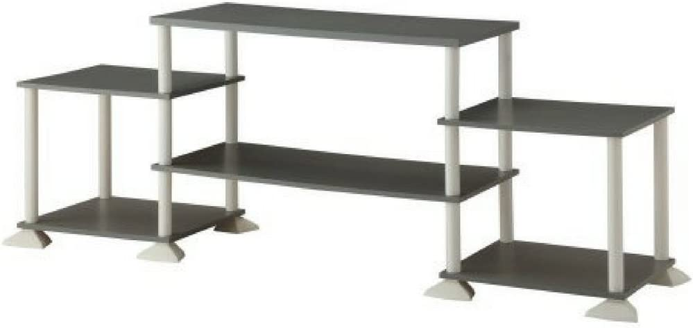 Mainstays No-Tool Assembly 3-Cube Entertainment Center for TVs up to 40 Gray