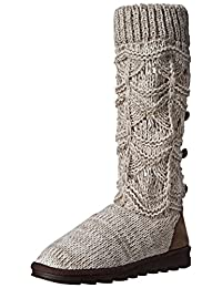 MUK LUKS Women's Jamie Crochette Winter Boot