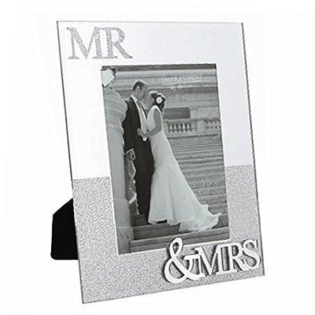 Juliana Mirror Frame with Glitter Mr & Mrs 5\