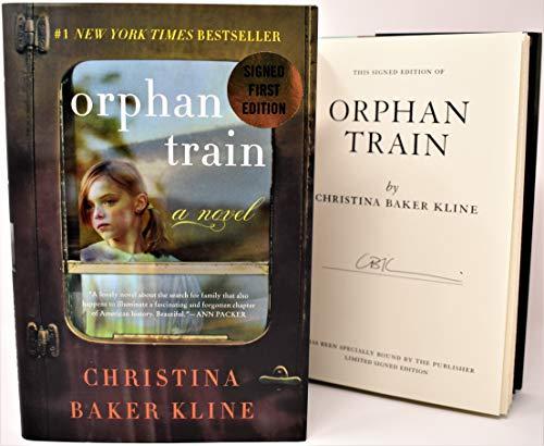 (Orphan Train AUTOGRAPHED by Christina Baker Kline (SIGNED BOOK) COA )