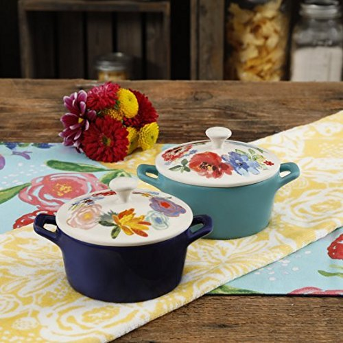 The Pioneer Woman Celia Mini Casseroles, Set of 2