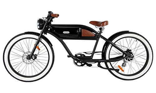greaser retro style electric bike 26 wheels bafang 350w
