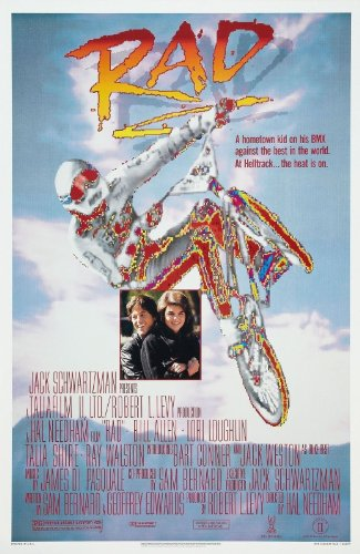 Rad Movie (1986) Poster 24''x36'' by movie posters r us