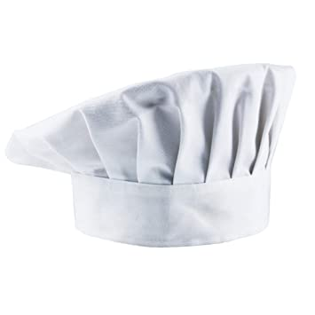 Timfany Chef Hats,Adjustable Size Chef Hat for Adult or Kids Pack of 1