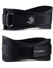 Fitgriff® tyngdlyftande bälte V2 för män och kvinnor – tyngdlyftbälte för gym, bodybuilding, vikt och crossfitträning – träning ryggstöd