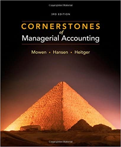 Download Cornerstones of Managerial Accounting (Available Titles Aplia) PDF, azw (Kindle), ePub