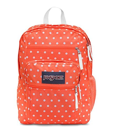 jansport-big-student-classics-series-backpack-thitian-orange-white-dots-one-size