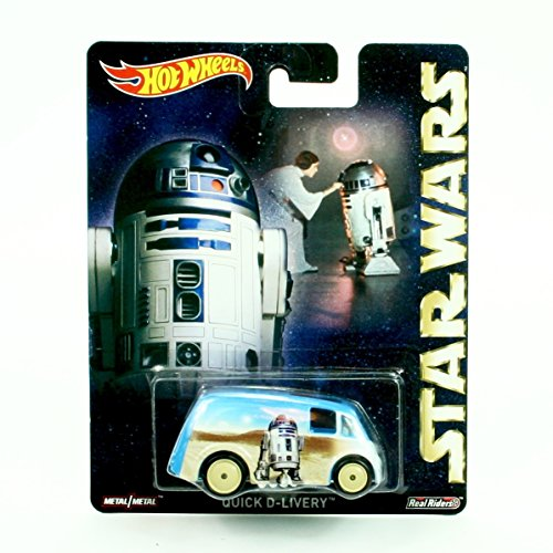 QUICK D-LIVERY * R2-D2 * Hot Wheels 2015 Pop Culture STAR WARS Series Die-Cast Vehicle ()