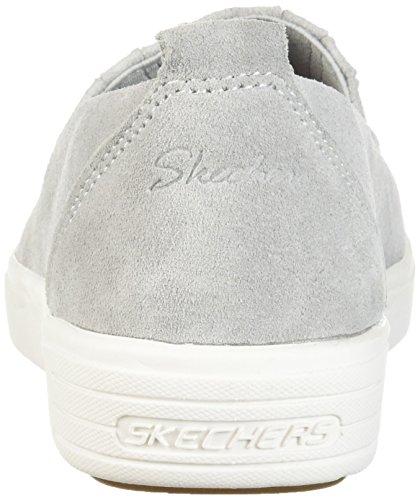 Skechers Kvinna Comfort Europa-gored Slip Skech Luft Mellansula Och Klassisk Passform Sneaker Grå