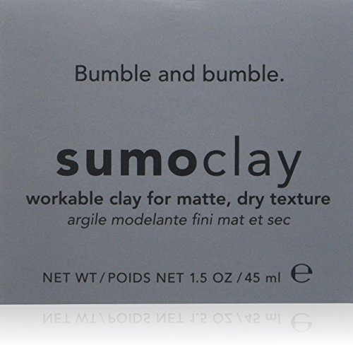 Bumble and Bumble Sumoclay Workable Clay for Matte Dry Texture for Unisex, 1.5 Ounce