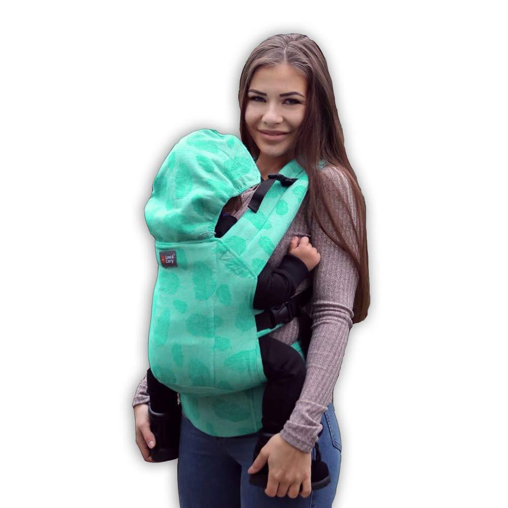Gürteltasche Ergonomische Dlight Love & Carry 100% Baumwolle türkis