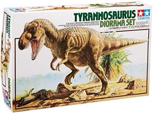 Tamiya Models Tyrannosaurus Diorama Set 1/35 Geology Science Kits -