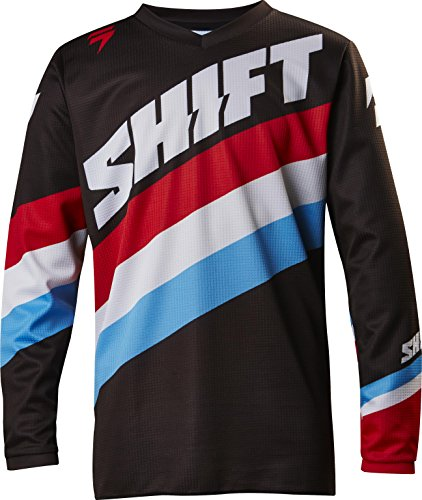 Shift 2017 Youth White Label Jersey - Tarmac
