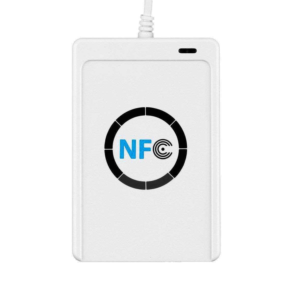 1 Set Profesional USB Lector de Tarjetas Inteligentes RFID NFC ...