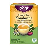 Yogi Tea, Kombucha Green, 16 Count (Pack of 6), Packaging May Vary