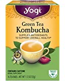 Yogi Tea, Kombucha Green Tea, 16 Count, Packaging May Vary
