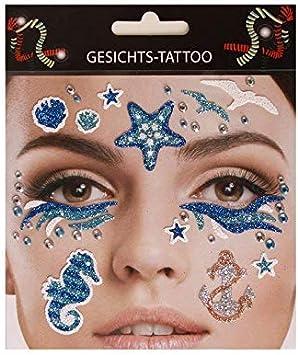 Lively Moments Gesichtsaufkleber/Maquillaje/Tatuajes Adhesivos ...