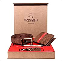 Upto 65% off on Leaderachi Wallets,Wallet Combos &Messenger Bags