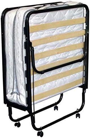 BFLYSHOP Cama Plegable de Invitados 90x200 cm con colchón Individual waterfoam 90 X 200 cm Estable Armadura de Metal con Funda Protectora