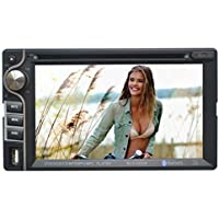 "Homelink® 6202 6.2"" Inch Touchscreen In-dash Double Din Car DVD Player Stereo Bluetooth Music Entertainment CD MP3 FM Receiver SD USB"