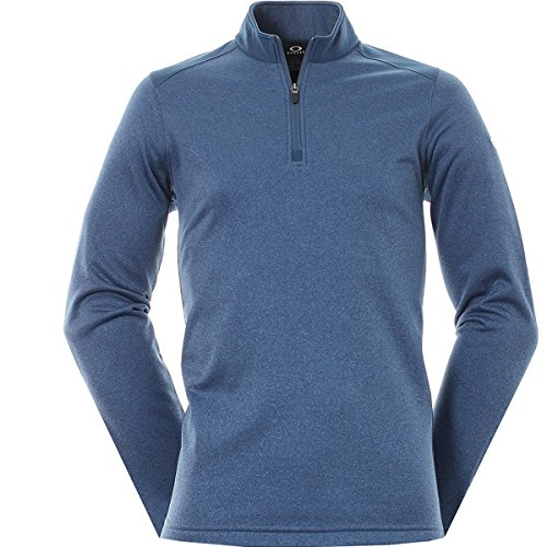 Oakley Men's Range Pullover, Blue Shade Light Heather, - 2016 Shades Oakley