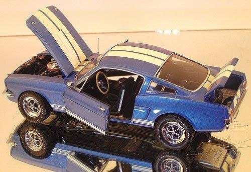 Franklin Mint 1/24 1966 Shelby GT-350: Sapphire Blue