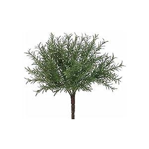 "Silk Decor Plastic Rosemary Greenery Bush - 8"" Tall 84"