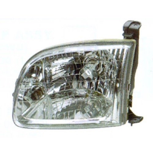 (Go-Parts ª OE Replacement for 2000-2004 Toyota Tundra Front Headlight Headlamp Assembly Front Housing/Lens/Cover - Left (Driver) Side - (Standard Cab Pickup + Extended Cab Pickup) 81150-0)