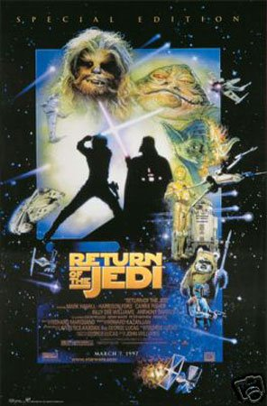 Hot Stuff Enterprise 1654-24x36-MV Star Wars Return of The Jedi Poster from Hotstuff