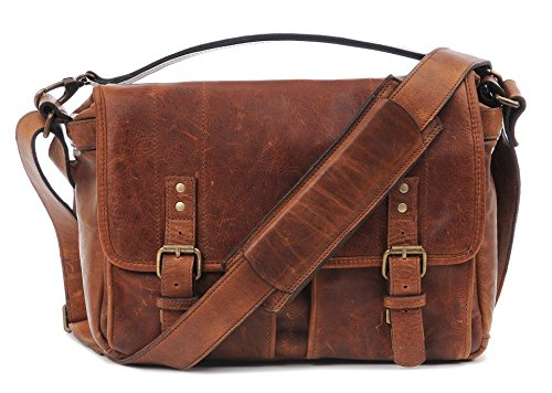 ONA - The Prince Street - Camera Messenger Bag - Antique Cognac Leather (ONA5-024LBR) (Best Camera Bag Street Photography)