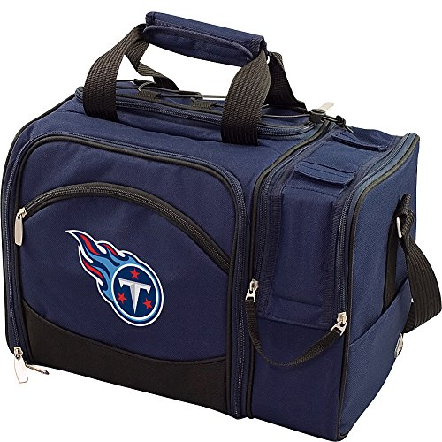 - PICNIC TIME NFL Tennessee Titans Malibu Insulated Shoulder Pack with Deluxe Picnic Service for Two