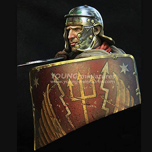 Unassembled and unpainted kit anime figure Resin kit bust GK Historical themes WXIAO HMMOZ 1//10 scale ROMAN LEGIONARY 1st Century