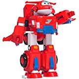 "Super Wings - Jett's Super Robot Suit Large Transforming Vehicle (For Use With 5"" Figures)"