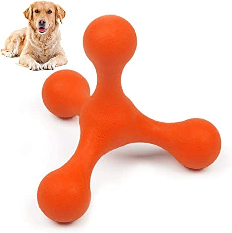 TEEPAO Juguete para masticar para perro, indestructible juguete ...