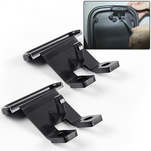 Ezzy Auto Pack of 2 Center Console Armrest Lid Latch fit for Chevrolet Isuzu Saab Buick Rainer GMC Envoy