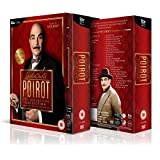 Agatha Christie's Poirot: Complete ITV TV Series - All 70 Episodes from Series 1, 2, 3, 4, 5 , 6, 7, 8, 9, 10, 11, 12 and 13 Definitive Collection (35 Discs) Box Set DVD + Extras + Featurettes + Documentaries