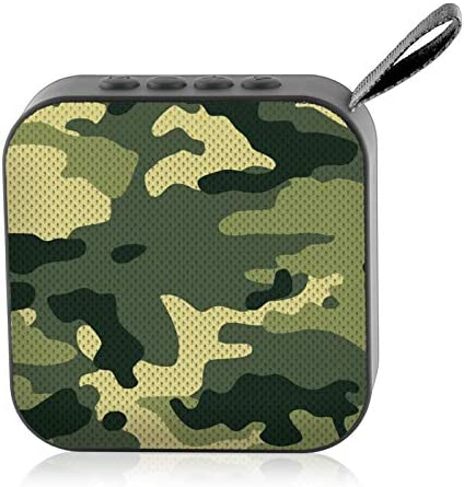 Loud Army Camo 800 ft Range Perfect Portable Wireless Speaker for Phones and Tablets Watchitude Jammd Bluetooth Speaker Bluetooth 5.0