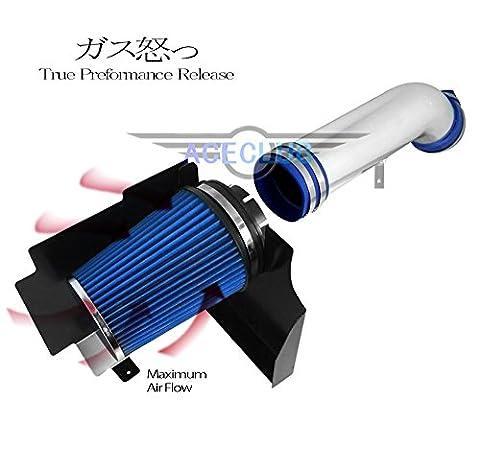 High Flow Sport Cold Air Intake Kit+Blue Filter For GMC 00-06 Yukon 4.8L 5.3L/Denali 6.0L/XL 1500 2500 5.3L 6.0L V8 - Gmc Yukon Denali Air