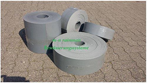 Rasenkante GRAU, Stärke: 3 mm, Höhe 15 cm (25 Meter 15 cm Höhe/5.16€ pro Meter)