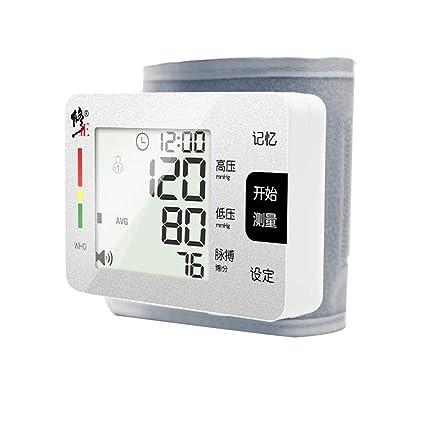 Tensiómetro de muñeca,Monitor Portátil De Presión Arterial Alta Precisión Y Fiabilidad con Función De