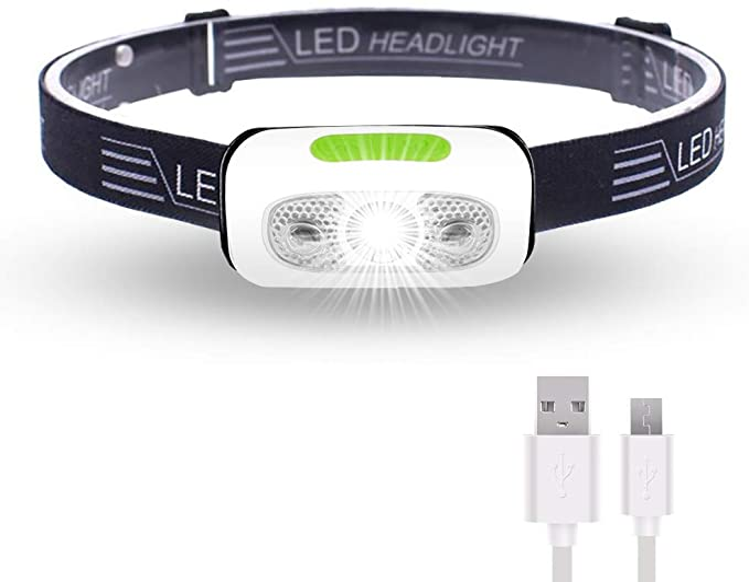 500 Lumens USB Rechargeable Headlamp