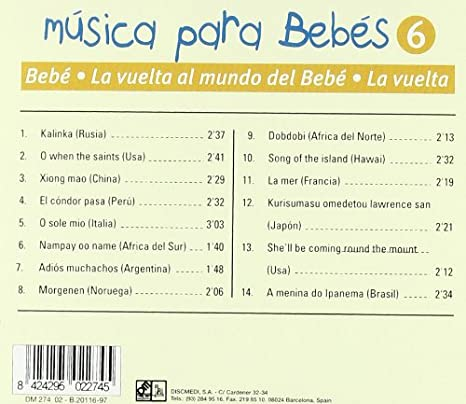 - Musica Bebes 6-la Vuelta Al Mu - Amazon.com Music